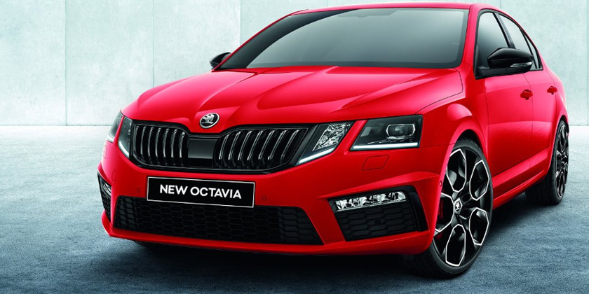 New Octavia back with a new front