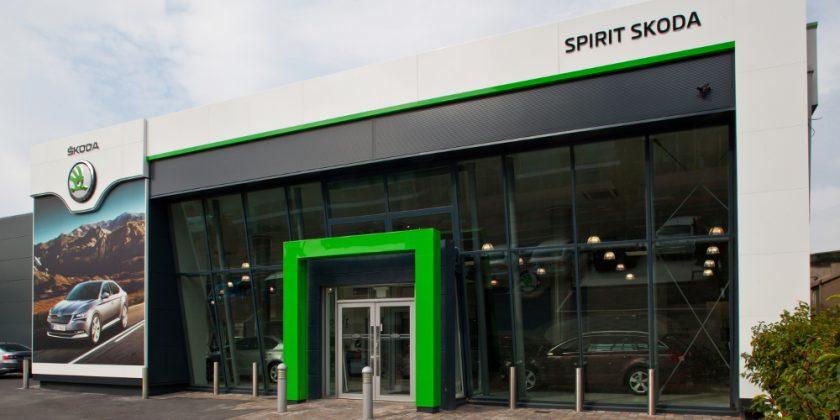 Spirit Skoda, Sandyford, Dublin. September 2015